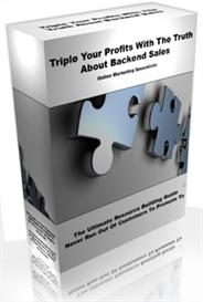 Triple Your Profits With The Truth About Backend Sales | eBooks | Business and Money