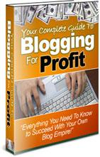 Blogging For Profit | eBooks | Business and Money