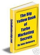 The Big Yellow Book of_Turbo Marketing Secrets | eBooks | Business and Money