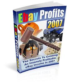 Ebay Profits | eBooks | Business and Money