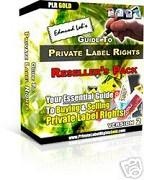 Guide to Private Lebel Rights | eBooks | Business and Money