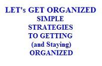 Lets Get Organized | eBooks | Business and Money