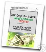2006 Quick Start Guide to Google Adsense Profits eBook | eBooks | Business and Money