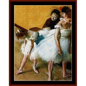 The Dance Examination - Degas cross stitch pattern by Cross Stitch Collectibles | Crafting | Cross-Stitch | Wall Hangings