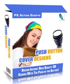 Push Button Cover Designs Package - MASTER RESELL RIGHTS | Software | Developer