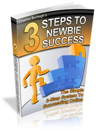 3 Steps To Newbie Success - With Private Label Rights | eBooks | Business and Money