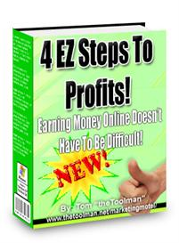4 EZ Steps To Profits - With Master Resell Rights | eBooks | Business and Money
