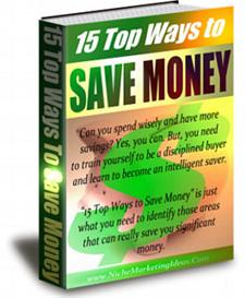 15 Top Ways To Save Money - Private Label Rights | eBooks | Finance