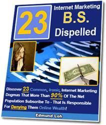 23 internet marketing bs dispelled - master resell rights