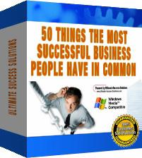 50 Things The Most Successful Business People Have In Common | eBooks | Finance