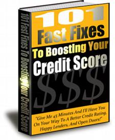 101 Fast Fixes To Boosting Your Credit Score | eBooks | Finance