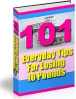 101 Everyday Tips For Losing 10 Pounds | eBooks | Health