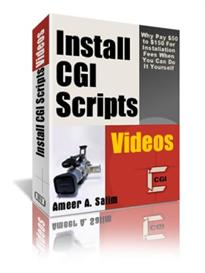 Install CGI scripts | eBooks | Video