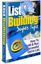 List Building Super Tips | eBooks | Internet