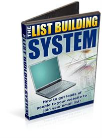 List Building Video System-Rights | eBooks | Internet