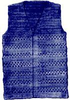 Shell Stripe Vest Crochet Pattern | eBooks | Arts and Crafts