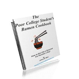 poor students ramen cookbook