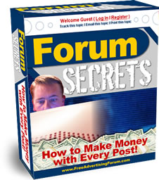 Forum Secrets How to Make Money with Every Post | eBooks | Internet