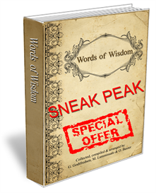 Words of Wisdom Sneak Peak | eBooks | Self Help