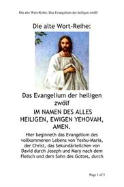 Die alte Wort-Reihe: Das Evangelium der Heiligen Zwölf | eBooks | Religion and Spirituality