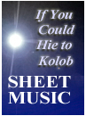 Download the Sheet Music eBooks | If You Could Hie to Kolob - Piano Sheet Music