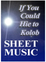 If You Could Hie to Kolob - Piano Sheet Music | eBooks | Sheet Music