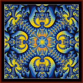 Fractal 39 cross stitch pattern by Cross Stitch Collectibles | Crafting | Cross-Stitch | Other