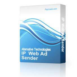 IP  Web Ad Sender... | eBooks | Business and Money