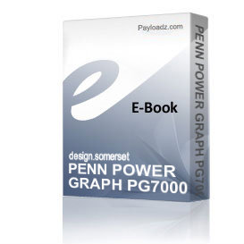 PENN POWER GRAPH PG7000 Schematics and Parts sheet | eBooks | Technical