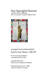 Star Spangled Banner arr by Sylvia Lee Mann | eBooks | Sheet Music