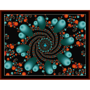 Fractal 109 cross stitch pattern by Cross Stitch Collectibles   Crafting   Cross-Stitch   Wall Hangings