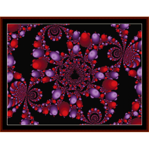 Fractal 110 cross stitch pattern by Cross Stitch Collectibles | Crafting | Cross-Stitch | Wall Hangings