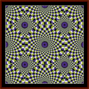 Fractal 27 cross stitch pattern by Cross Stitch Collectibles   Crafting   Cross-Stitch   Wall Hangings