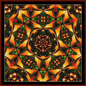 Fractal 31 cross stitch pattern by Cross Stitch Collectibles | Crafting | Cross-Stitch | Wall Hangings