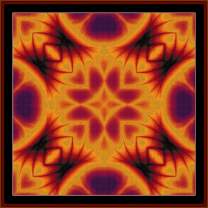 Fractal 40 cross stitch pattern by Cross Stitch Collectibles | Crafting | Cross-Stitch | Other