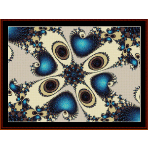 Fractal 33 cross stitch pattern by Cross Stitch Collectibles | Crafting | Cross-Stitch | Other