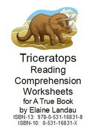 Triceratops Reading Comprehension Worksheets | eBooks | Education