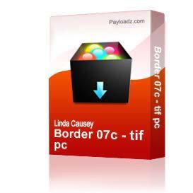 Border 07c - tif pc | Other Files | Clip Art