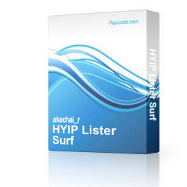 HYIP Lister Surf | Software | Business | Other