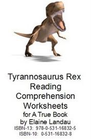 Tyrannosaurus Rex Reading Comprehension Worksheets | eBooks | Education
