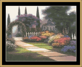 Garden Arbor | Crafting | Cross-Stitch | Other