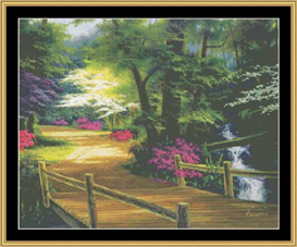 Along The Bridge | Crafting | Cross-Stitch | Other