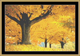 Yellow Of Autumn | Crafting | Cross-Stitch | Other