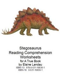 Stegosaurus Reading Comprehension Worksheets | eBooks | Education