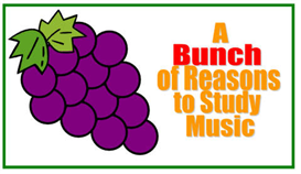 Bunch of Reasons to Study Music Bulletin Board | Other Files | Arts and Crafts