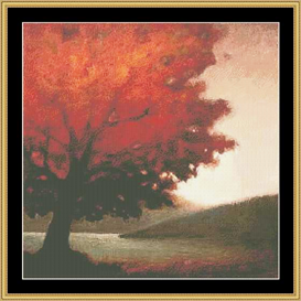 Autumn Solitude | Crafting | Cross-Stitch | Other