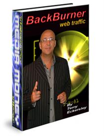 Back Burner Web Traffic | eBooks | Internet