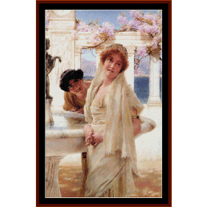 A Difference of Opinion - Alma Tadema cross stitch pattern by Cross Stitch Collectibles | Crafting | Cross-Stitch | Wall Hangings
