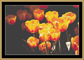 Yellow Tulips | Crafting | Cross-Stitch | Other