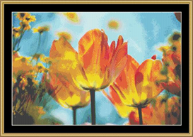 Yellow Tulips Ii | Crafting | Cross-Stitch | Other